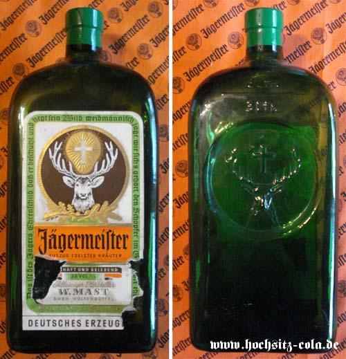 3l 3 Liter Jägermeister Flasche