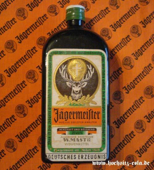 Deko Flasche Jägermeister Plastik