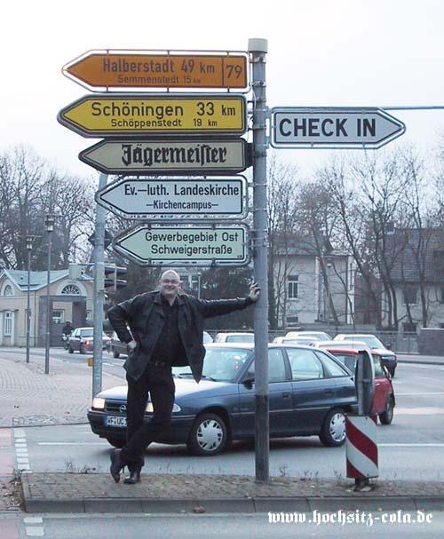Jägermeister Wegweiser