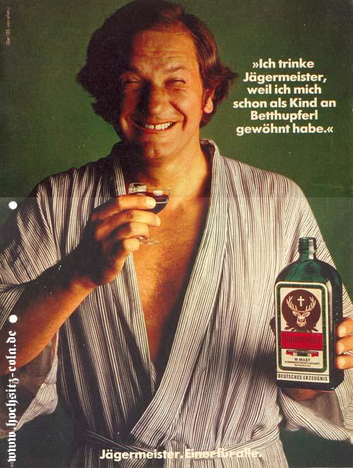 Ich trinke Jägermeister, weil...