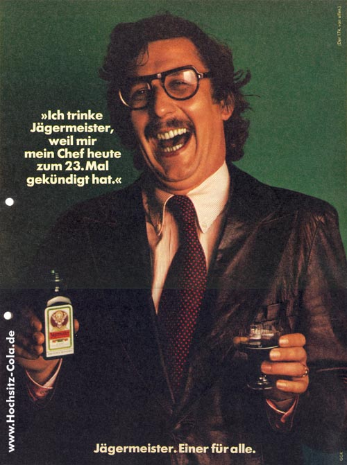 174 Ich trinke Jägermeister, weil