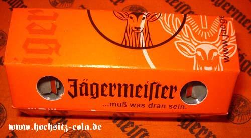 Fernglas aus Pappe Jägermeister