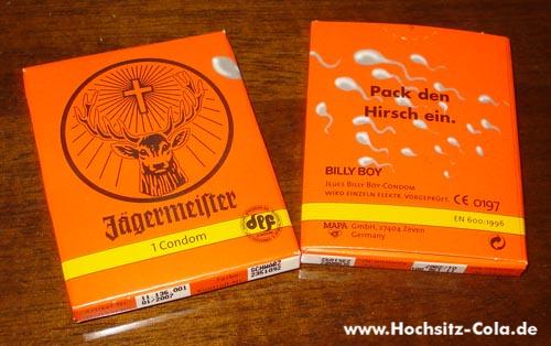 Jägermeister Kondom
