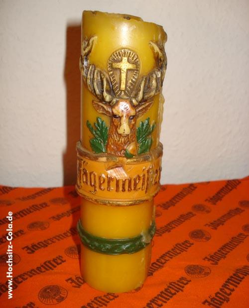 Jägermeister Kerze