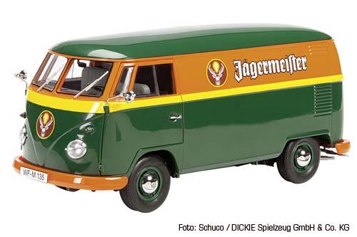 """Schuco Edition 1:18 Exclusiv VW T1 Kasten """"Jägermeister"""""""