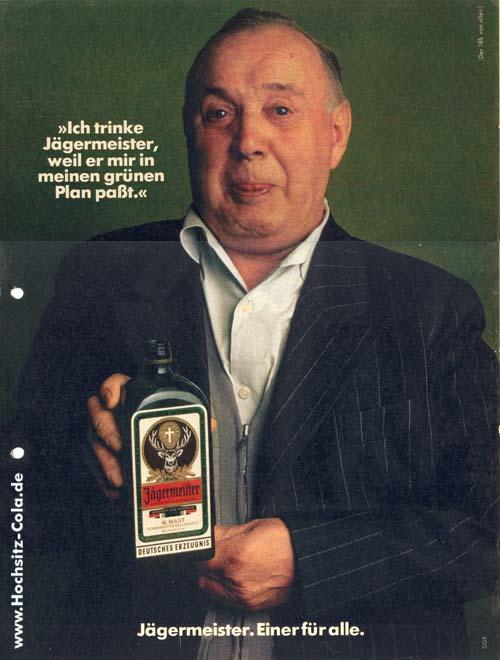 185 Ich trinke Jägermeister, weil
