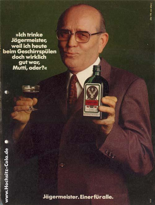 195 Ich trinke Jägermeister Geschirrspüler