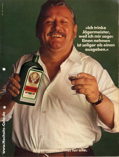 199 ich trinke Jägermeister seeliger