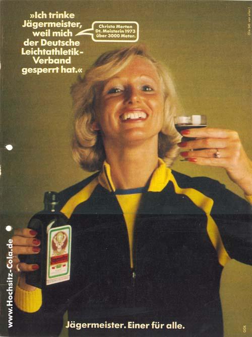 240 Ich trinke Jägermeister, weil... Christa Merten