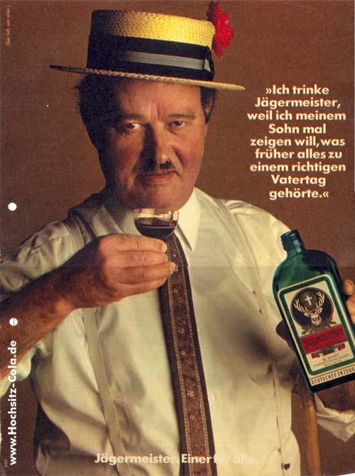 245n Ich trinke Jägermeister weil Vatertag