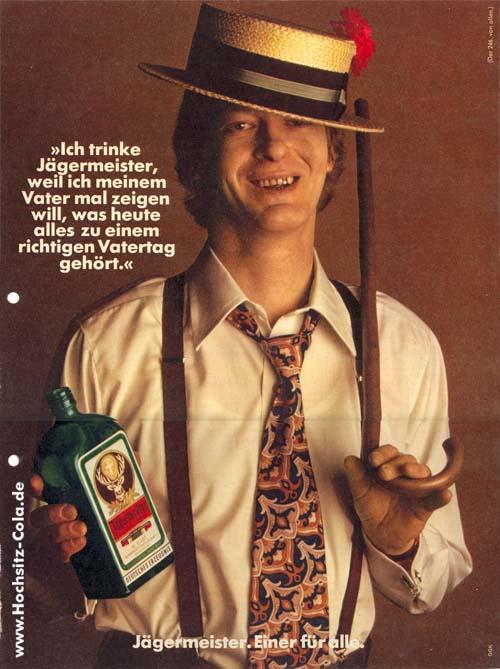 246 Ich trinke Jägermeister, weil... Vatertag