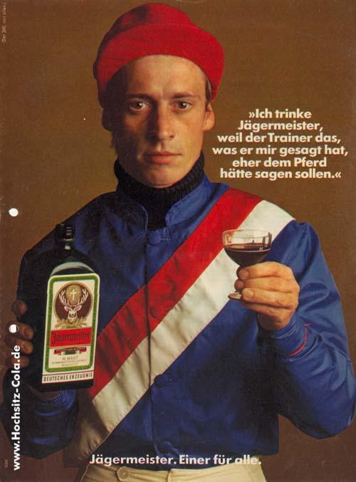 260 ich trinke Jägermeister Jockey