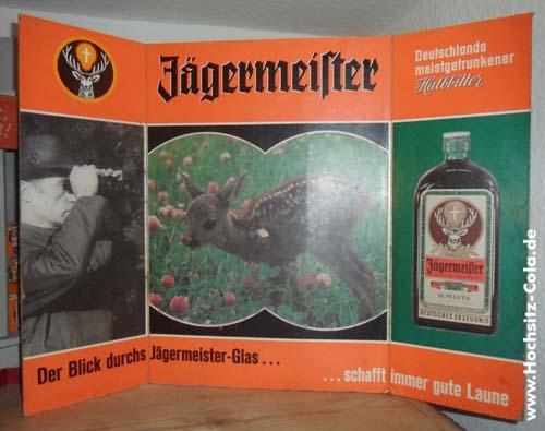 Jägermeister Altaraufsteller