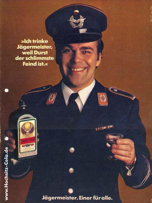 277 Ich trinke Jägermeister, weil Durst der größte Feind ist