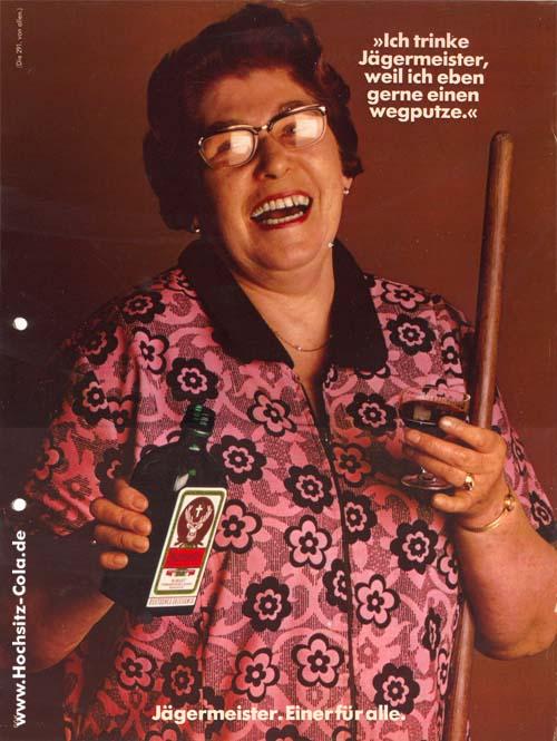 291 Ich trinke Jägermeister weil ich gerne mal einen wegputze