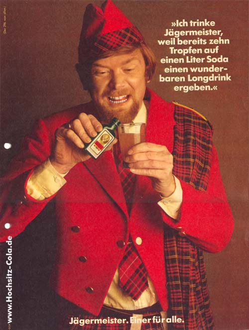 296 Schotte, ich trinke Jägermeister, weil...