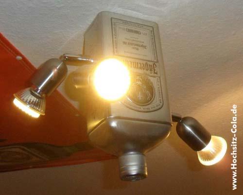 Jägermeister Deckenlampe