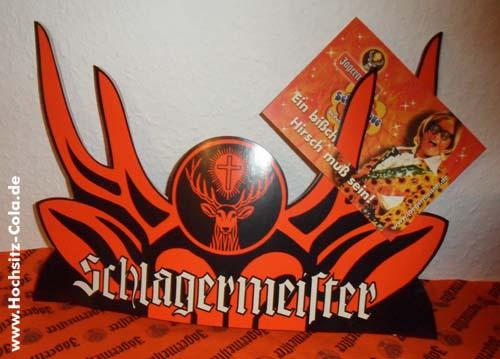Jägermeister Pappgeweih Schlagermove