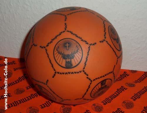Jägermeister Plastikfussball Plastikball