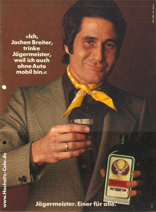 380 Jägermeister Werbung Jochen Breiter