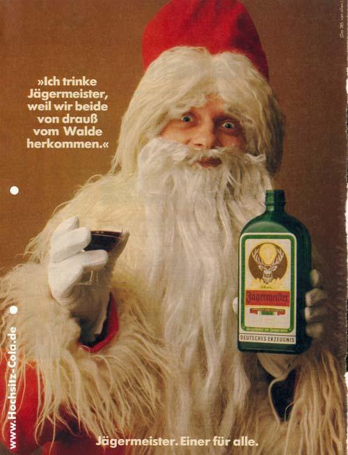 385 ich trinke Jägermeister weil Nikolaus