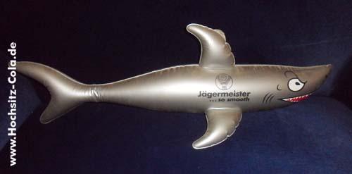 Aufblasbarer Hai Jägermeister USA
