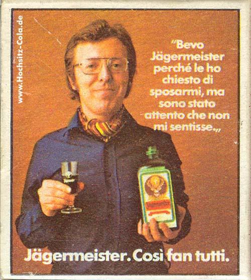 Bevo Jägermeister perché