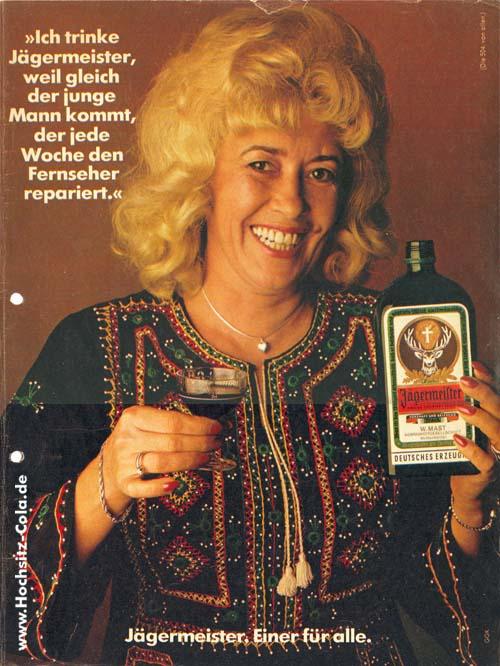 Jägermeister Anzeige 1975