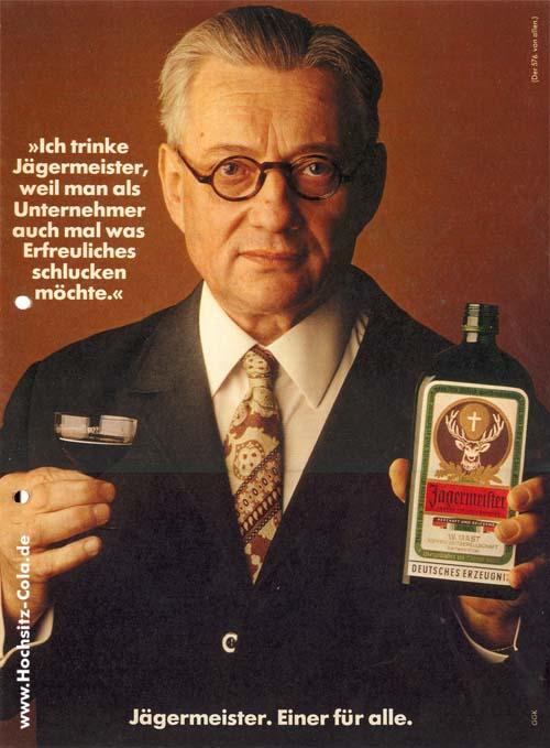 Jägermeister Unternehmer