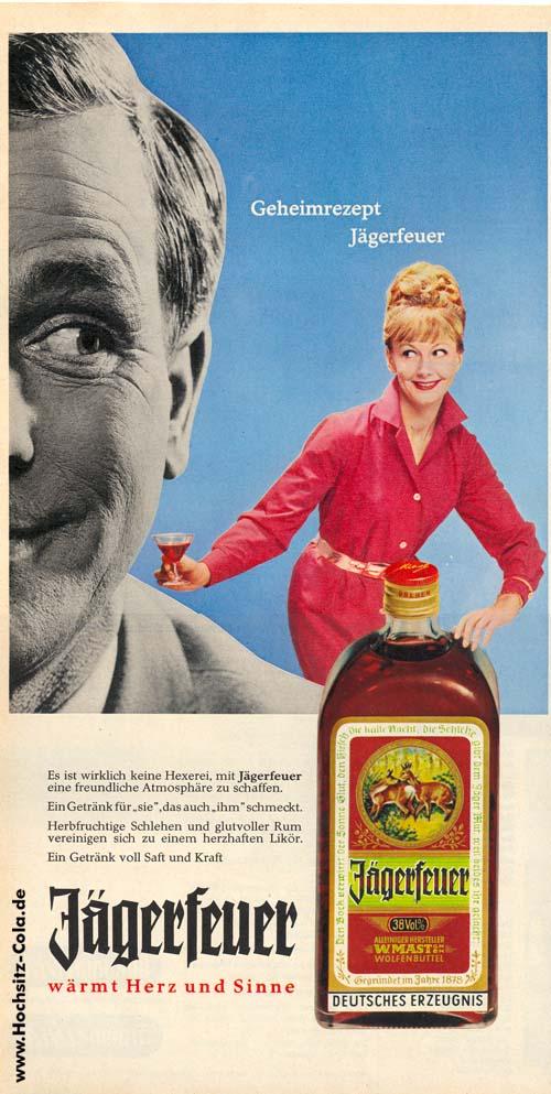 Anzeige Jägerfeuer 1964