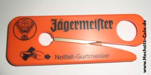 Notfall Gutmesser Jägermeister