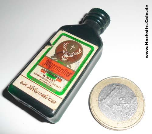 Die kleinste Jägermeisterflasche der Welt Kaufmannsladen