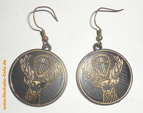Ohrringe Jägermeister USA