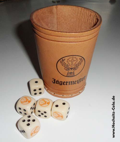Jägermeister Würfelbecher