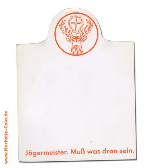 Jägermeister Block