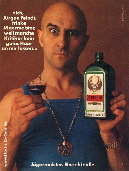Jürgen Feindt Jägermeister