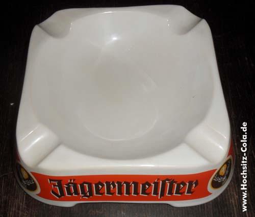 Jägermeister Stammtischaschenbecher Böckling Glas