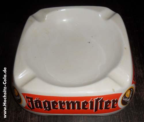 Jägermeister Stammtischaschenbecher ceramica Italy E.Piola, Carpignano Sesia