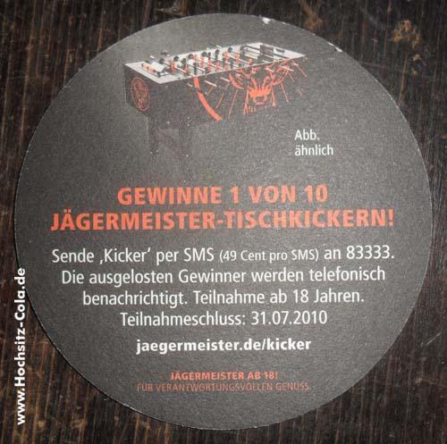 Jägermeister Untersetzer/Bierfilz #3