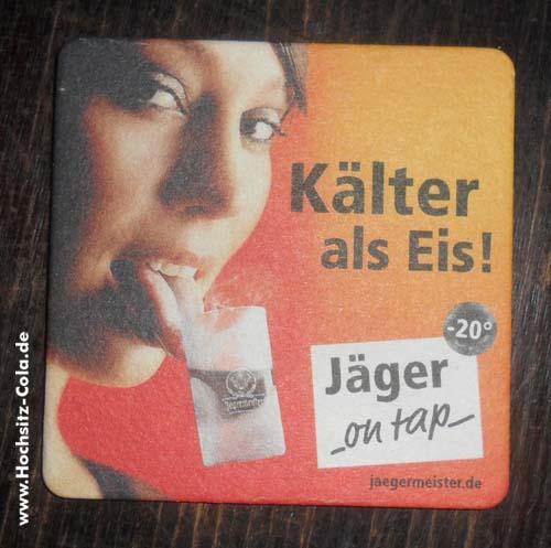 Jägermeister Untersetzer/Bierfilz #5