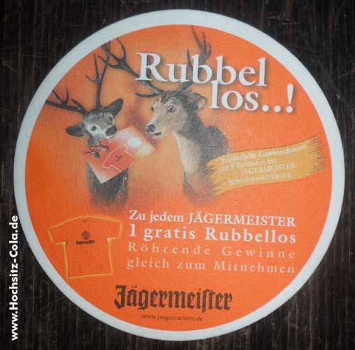 Jägermeister Untersetzer/Bierfilz #7