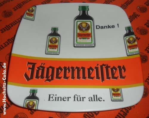 Jägermeister Zahlteller