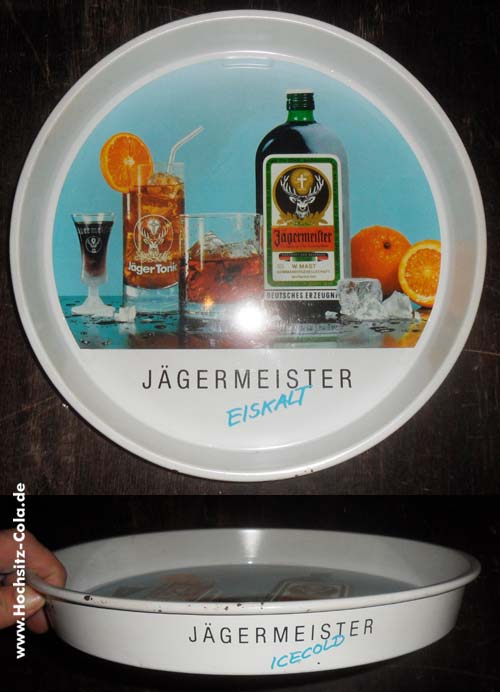 Jägermeister Tablett #5