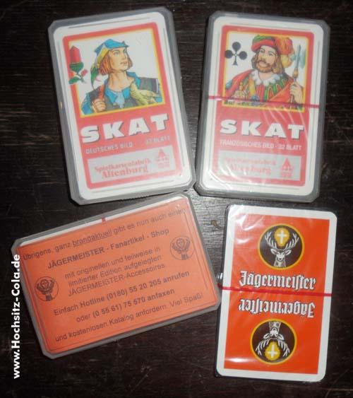 Jägermeister Skatspiel #1 und #2