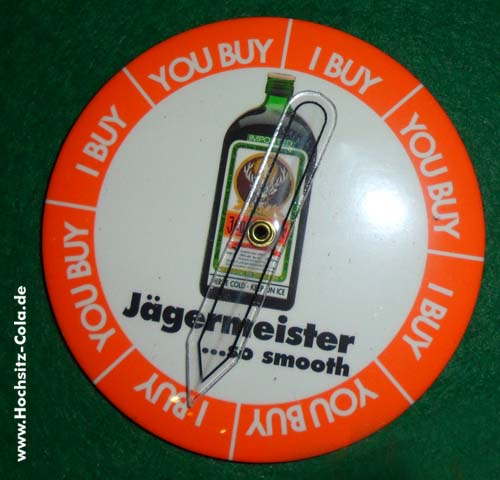 Jägermeister Button #1