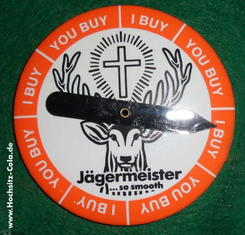 Jägermeister Button #2