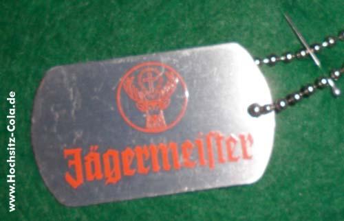 Jägermeister Hundemarke #4