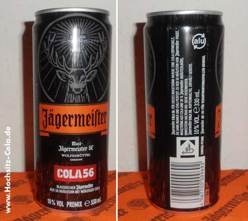 Jägermeister Cola 56