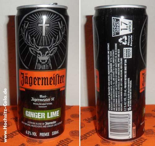 Jägermeister Ginger Lime Dose