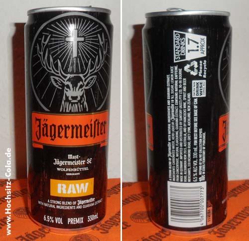 Jägermeister Raw Dose